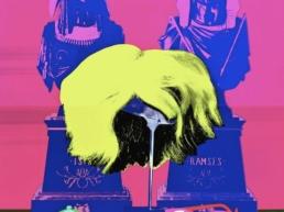 Andy Warhol_s Wig, Watch, and Glasses _Silkscreen_ Series- David Gamble copy