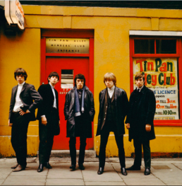 the rolling stones outside tin pan alley club